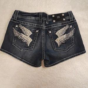 Miss Me Jean Shorts Size 30 Stretch